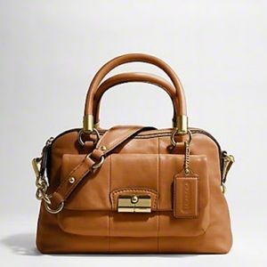 Coach Tan Kristin Satchel